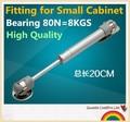 De calidad superior neumática Gas primavera 80N carga cocina gabinete de apoyo armario Lift Up hidráulico