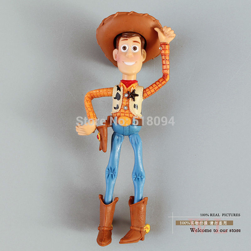 Free Shipping Toy Story 3 Woody PVC Action Figure Toy Boxed Child Toy Christmas Gift 10cm DSFG101 hot new 1pcs 18cm toy story 3 woody action figures pvc action figure model toys christmas gift toy