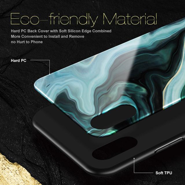 Luxusný obal pre iPhone – agát-mramor