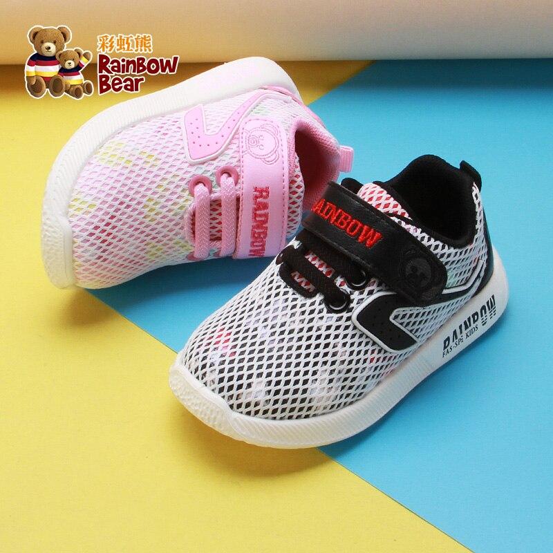 2019 printemps nouvelles chaussures pour filles maille Anti-glissant respirant enfants chaussures # R9C0678