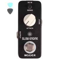 MOOER Guitarra Effect Pedal Slow Engine Control The Volume Knob Full Metal Shell