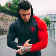 2017 Mens Shark Hoodie Singlets Sweatshirts Mens hoodies Stringer Bodybuilding Fitness Men's hoodies Shirts hoodies(China)