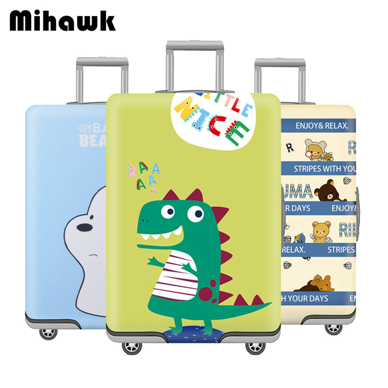 Mihawk Portable Luggage Protective Cover Unisex Protect Dust Case Men Trolley Thicker Dustproof Women's Travel Accessories Stuff