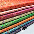 Floral Brocade Fabric Damask Jacquard Apparel Costume Upholstery Furnishing Curtain Material 90cm*100cm 038-622 B