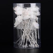 20Pcs/lot High Quality Wedding Jewelry Accessories Bridal Hairpins Clips Women U clamp Colorful Hairstick