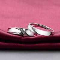 Naturales Anillos de Diamantes Par Set Genuino $ number ct SI/H Diamantes 18 K Oro Wedding Band Anillo de Compromiso Conjunto de Joyas de Tamaño personalizado