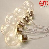 5M 20 LED Ball string lampen Neuheit Outdoor beleuchtung Weihnachten Lichter fee hochzeit party garten girlande nacht licht ZYD0008-in Lichterketten aus Licht & Beleuchtung bei