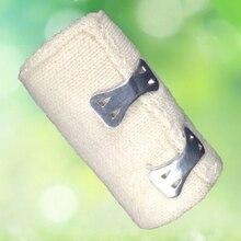 1 רול גבוהה אלסטי תחבושת פצע הלבשה חיצוני ספורט נקע טיפול תחבושת עבור העזרה הראשונה ערכות אבזרים