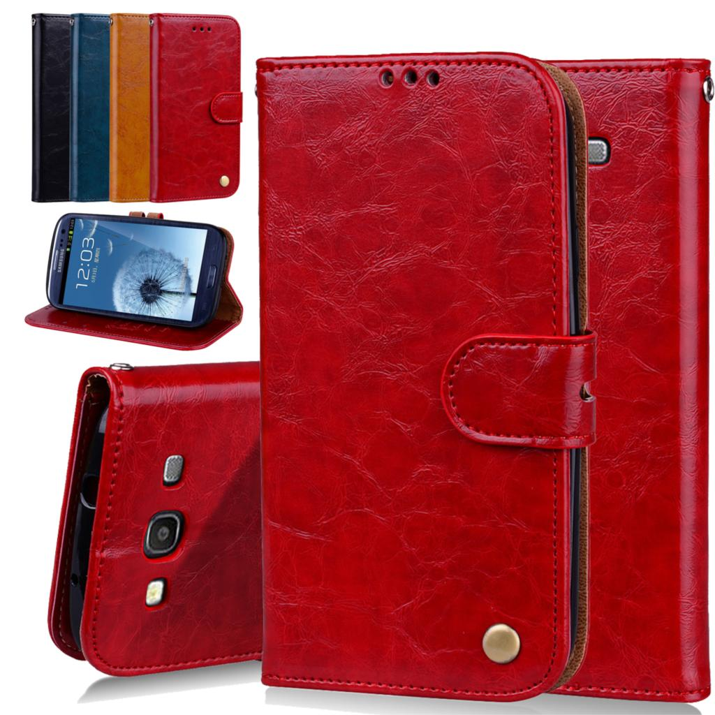 Phone Case For Samsung Galaxy S3 Wallet Leather Stand Design Mobile Phone Cover For Samsung i9300 S3 Cases