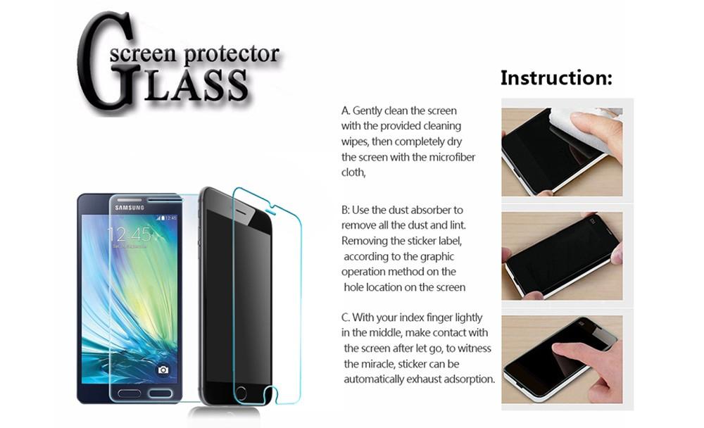 € 4 08 |Vidrio templado protector de pantalla para zte nubia z9 max 9 h  2 5d 0 33mm anti scratch claro auto adhesivo película protectora de vidrio