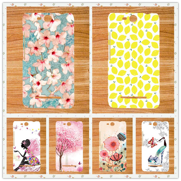 For Micromax Q392 Case Cover,High Quality Diy UV Painting Colored Soft tpu Case For Micromax Canvas Power 2 Q392 Cover Sheer