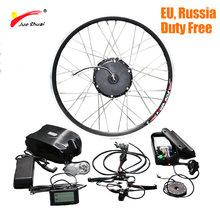 Jueshuai – Kit de Conversion pour vélo électrique pliant, avec batterie au Lithium, moteur dans la roue avant, 48V, 350W