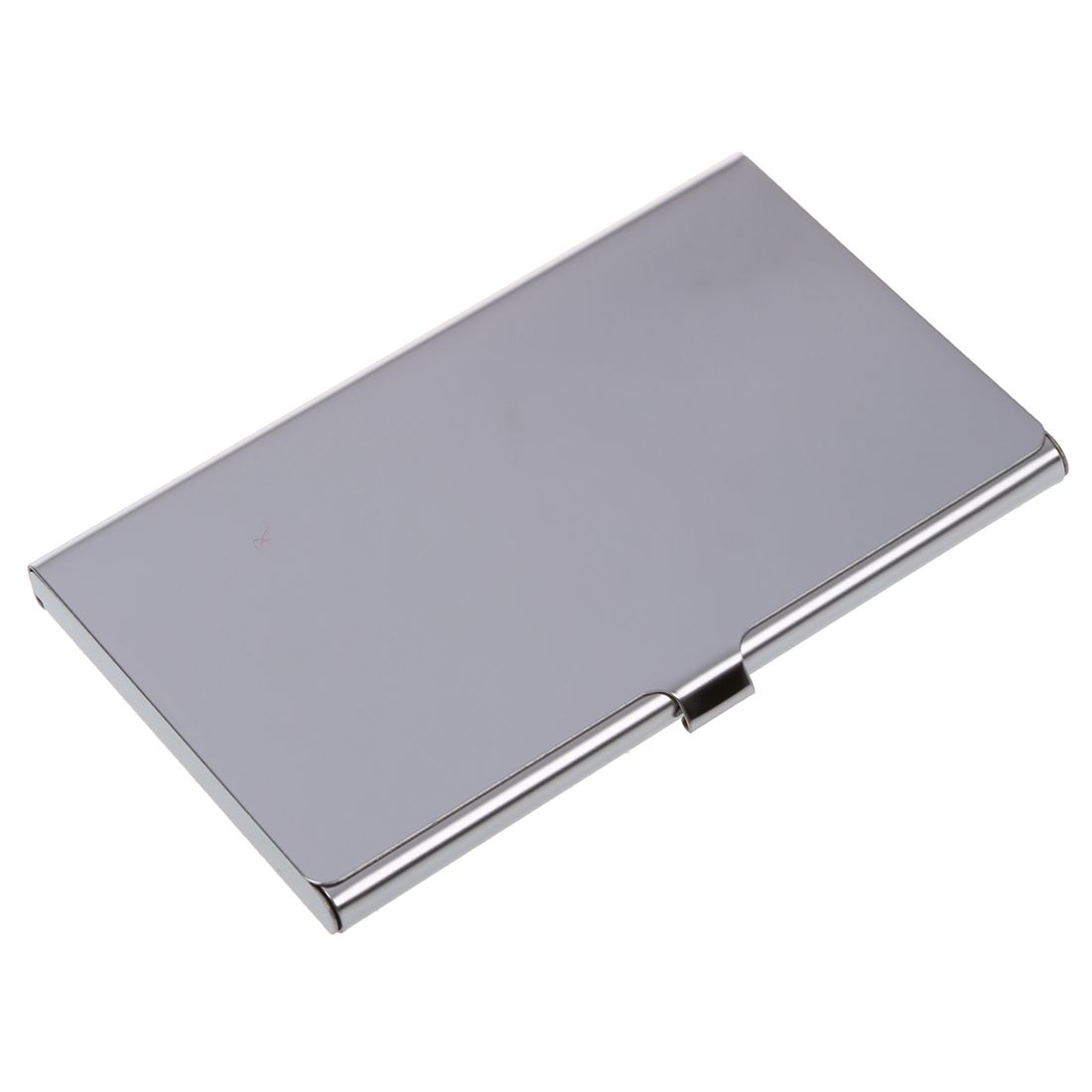 Stainless Steel Aluminum Case Transmission Case Commercial Business Card Credit Card holder smooth