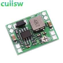 5 pces mp1584en tamanho ultra-pequeno DC-DC step down power module 3a conversor buck ajustável para arduino substituir lm2596