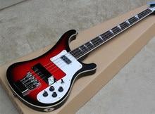 Red Burst Factory Custom Rickenback custom 4003 firglo 4 strings bass guitar ricken bass
