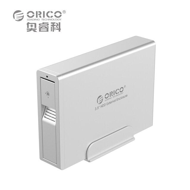 Orico 7618us3 3.5 hdd externo 3.5 sata apoio ferramenta livre/hot-swap/sleep inteligente-preto (não incluindo hdd)