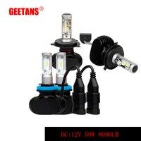 GEETANS H4 H7 H11 H13 9005 HB3 9006 HB4 P13 LED Car Headlight Hi Lo Beam
