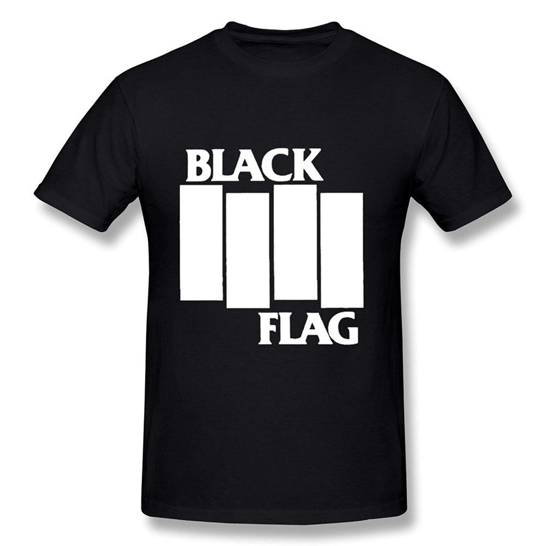 Black flag t shirt uk - Black Flag T Shirt S 3xl Hardcore Punk Music Rock Stranger Things Design T Shirt