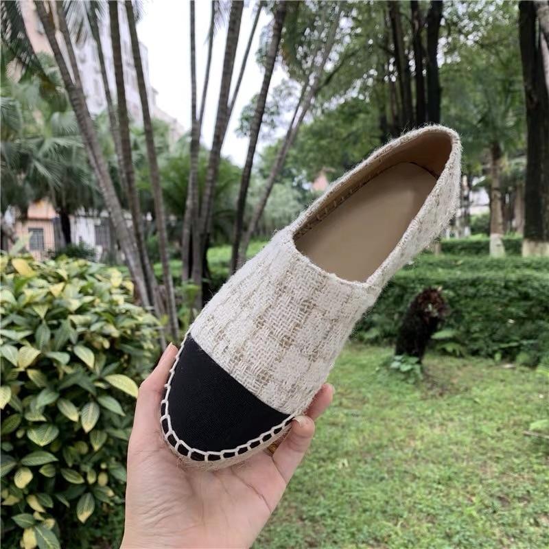 Women s Shoes Genuine Leather Woman Slip On Loafers Platform Flat Shoe Top Quality Women Espadrilles