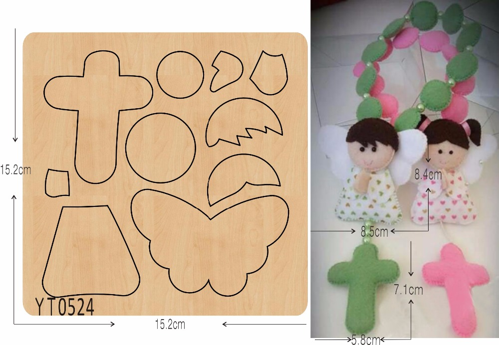 Pray for Boys and Girls DIY new wooden mould cutting dies for scrapbooking Thickness 15 8mm