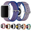 ZLIMSN Brand For Apple Nylon Watchbands Woven Nylon Watch Strap Women Mens Metal Adapter Strap 38mm 42mm