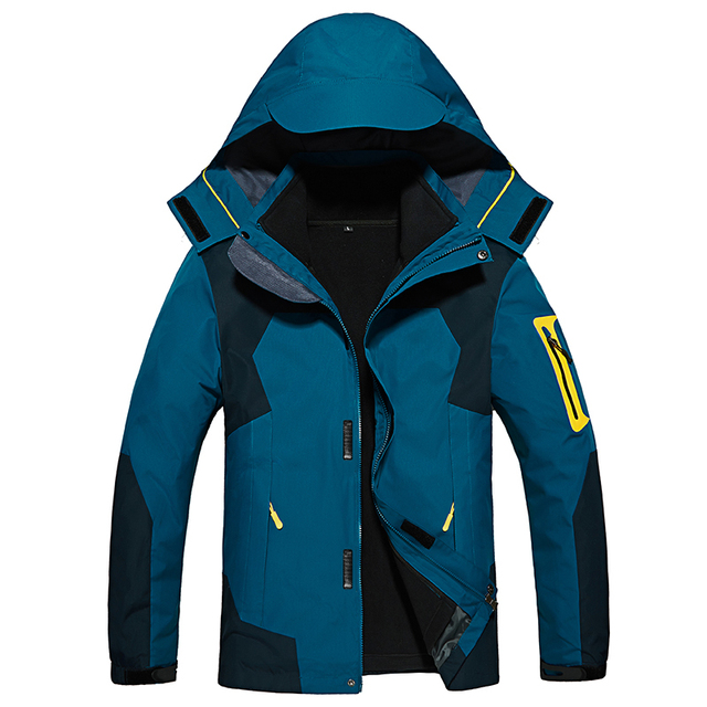 TIEPUS Two Pieces set Winter jacket men warm thickening outwear windproof waterproof Men snow Parkas coat size L~4XL 5XL 6XL 8XL