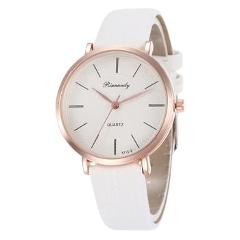 Simple dial design women's fashion watches exquisite luxury female quartz wristwatches women dress watch leather ladies clock