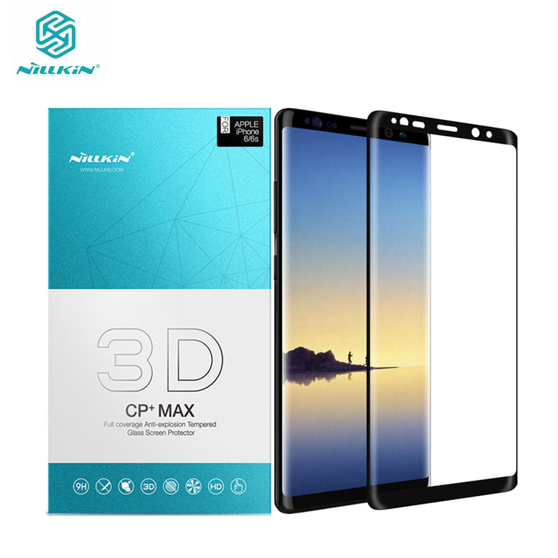 Nillkin Screen Protector for Samsung Galaxy Note 8 3D CP+Max sfor Samsung Galaxy Note 8 Tempered Glass for Samsung Note 8 Glass