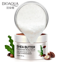 BIOAQUA Moisturizing Body Scrub Exfoliating Lotion  Cream Rubbing Skin