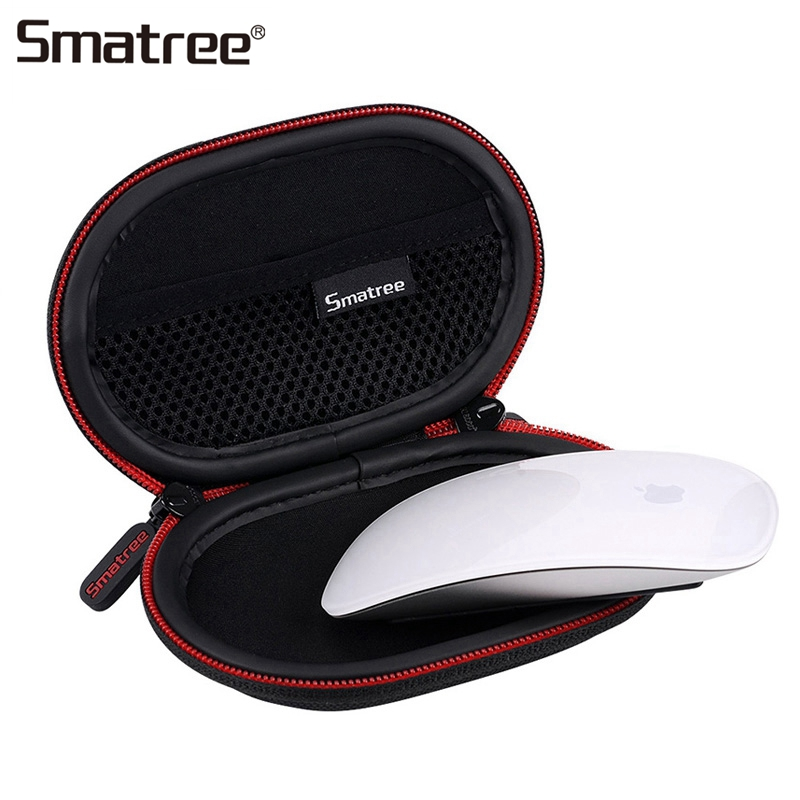 цена на Smatree Portable Hard Carrying Case For Apple Magic Mouse 2 Protective Bag Travel Case Newest Mini Wireless Mouse Case Anti-drop
