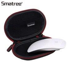 Smatree przenośny twardy futerał do Apple Magic Mouse 2 torba ochronna torba podróżna najnowszy Mini bezprzewodowy futerał na mysz Anti drop