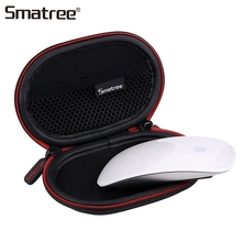Smatree taşınabilir sert taşıma çantası Apple Magic Mouse için 2 koruyucu çanta seyahat çantası yeni Mini kablosuz fare kılıf damlası