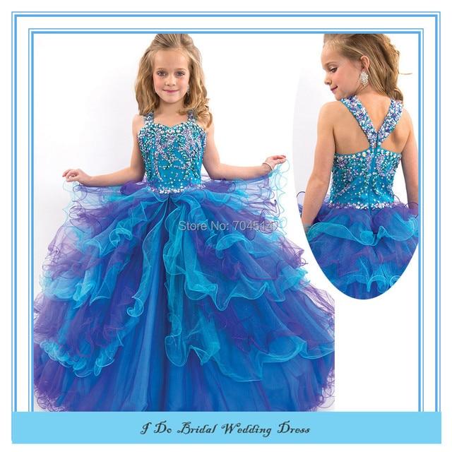 Ultimate Puffy Pageant Dresses For Little Girls Flower Girl Dress