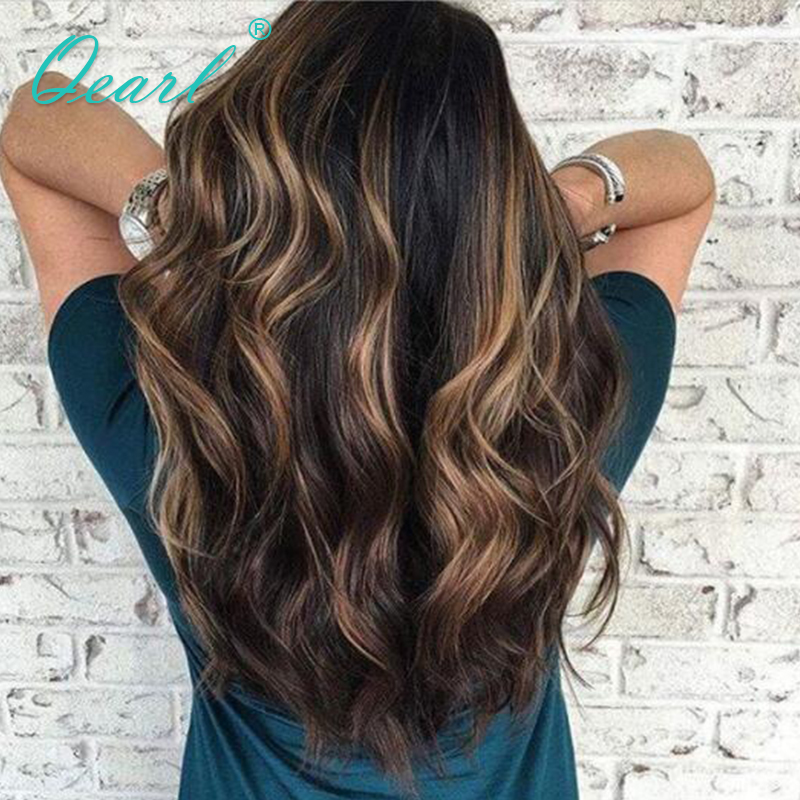 1b highlights 33# Full lace Wig