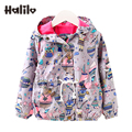 Kids Jackets Toddler Spring Coats Cartoon Hooded Boys Jacket Unisex Boys Girls Outerwear Coats And Jackets Children Clothing