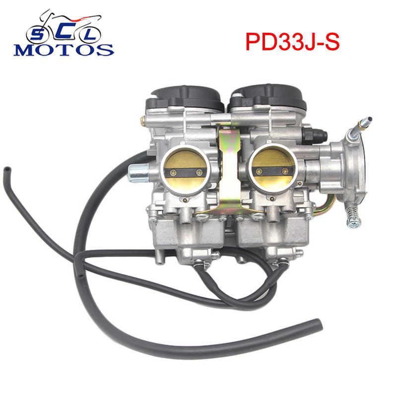 Sclmotos-33 مللي متر PD33J-S دراجة نارية المكربن ATV رباعية الكربوهيدرات لياماها رابتور 660R YFM660R 2001 2002 2003 2004 2005