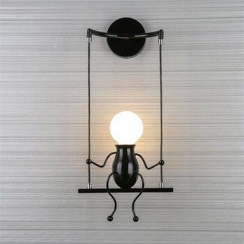 โมเดิร์น 5 วัตต์ led wall light Home โคมไฟติดผนังในร่มตกแต่งสีขาวหรือแสงสีขาวอุ่นข้างโคมไฟติดผนังแสง