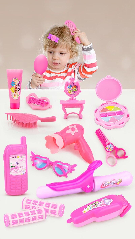 24-32PCS Pretend Play Kids Make-Up Set 7