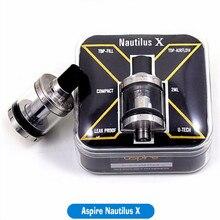 ต้นฉบับAspire Nautilus Xฉีดน้ำบนบุหรี่อิเล็กทรอนิกส์ไหลเวียนของอากาศU-Tech aspire nautilus xขดลวด1.5ohmเปลี่ยนหลอดแก้ว