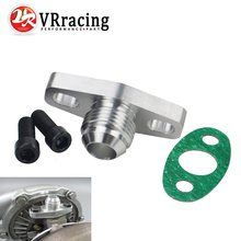 VR RACING - Turbo Oil Return/Drain Flange Adapter AN10 for GT28 GT30 GT35 T25 VR-OFG34(China)