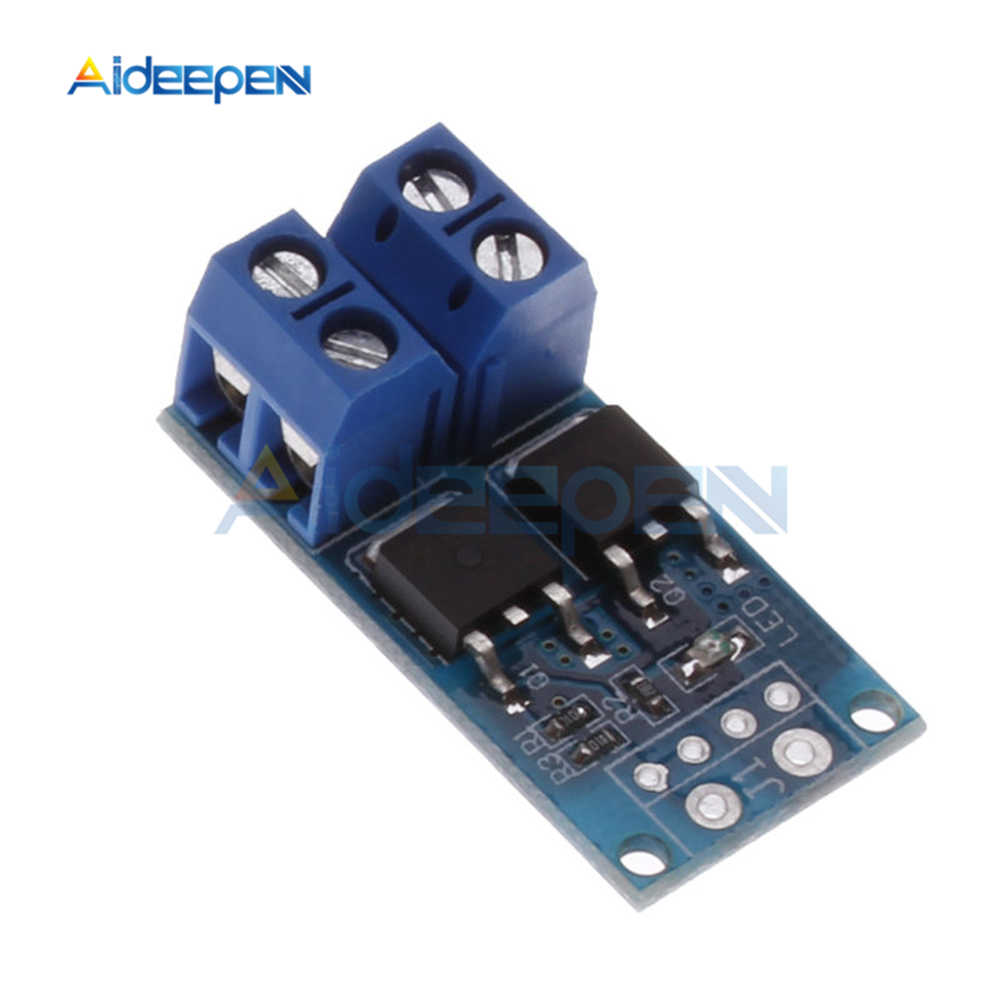 15A 400W MOS FET Field Effect Tube Trigger Switch Drive Module PWM Regulator Electronic Switch Control Panel