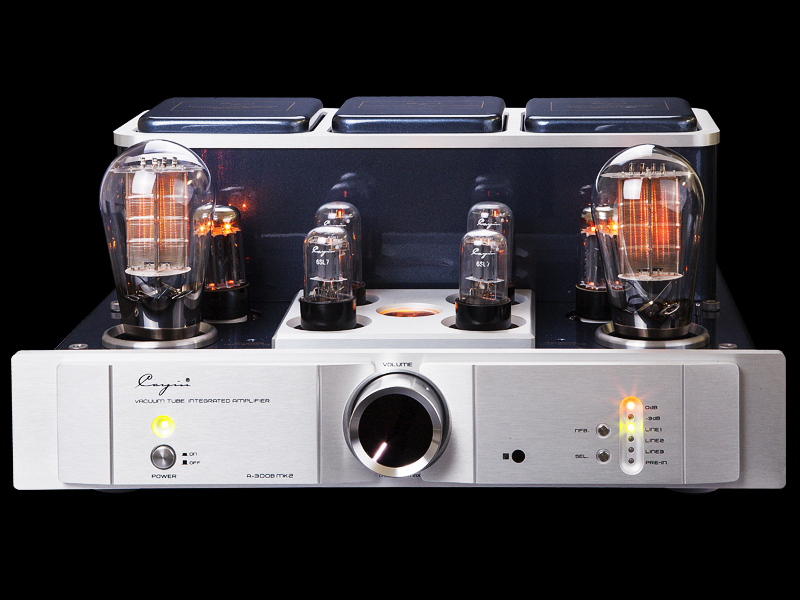 K-003 CayinA-300BMK vacuum Tube amplifier Tube 300Bx2 single-ended Class A power amplifier PRE-in Mono amplifier 8W*2 купить в Москве 2019