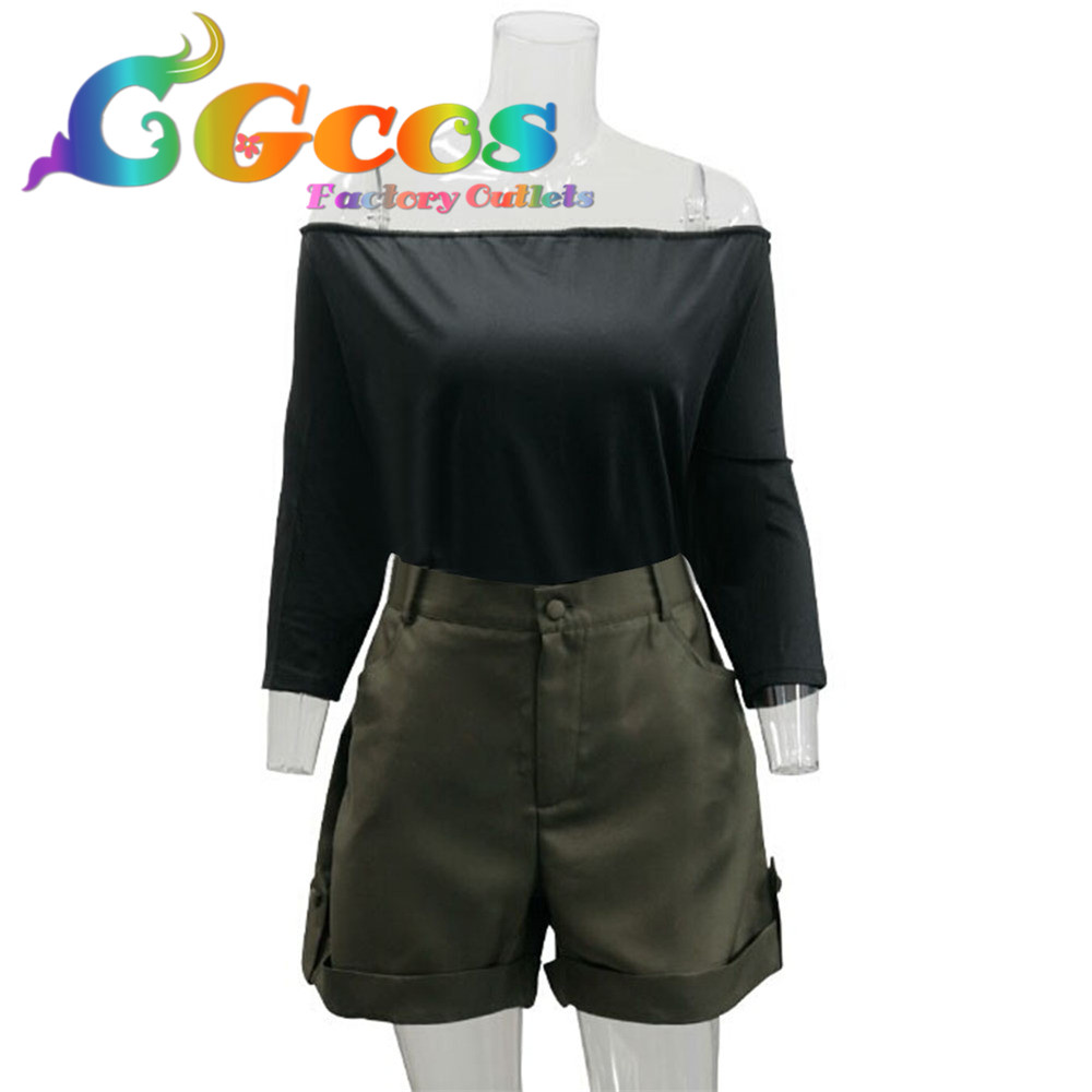 cgcos free shipping cosplay costume gangsta gyangusuta ginger new in