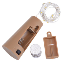 LED Copper Wire String Light with Bottle Stopper 2m 20led for Glass Craft Outdoor Holiday Christmas Party Decoration