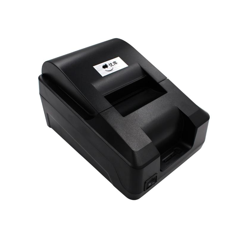 ФОТО Thermal Receipt Printer YK-58T Straight Thermal Print Design for cash register USB interface