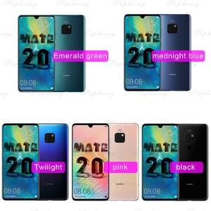 Image 2 - Huawei Mate 20 נייד טלפון 6.53 אינץ קירין 980 אוקטה Core טביעות אצבע 4000mAh מטען 4 * מצלמה NFC