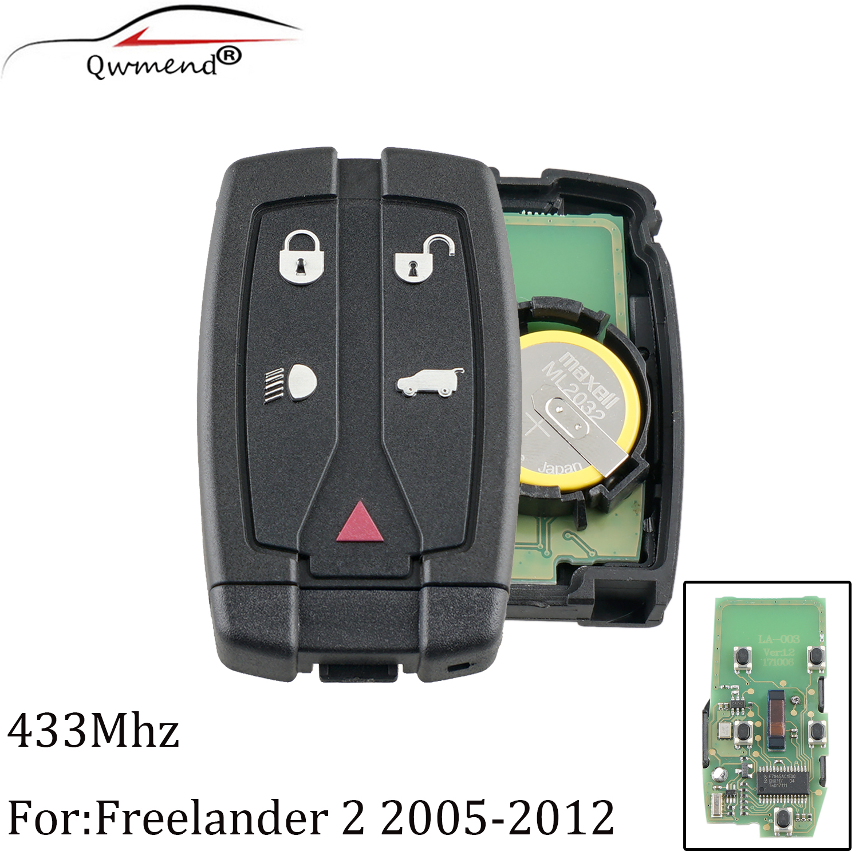 Remote-Control-Key Freelander Range-Rover Smart Original For 433/434mhz 2-Lr2