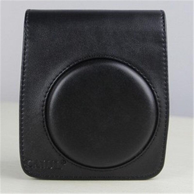 Camera bag For Fujifilm Instax Mini 70 leather purse instant camera Leather Camera Shoulder Strap Bag Protect Case Pouch Colorfu