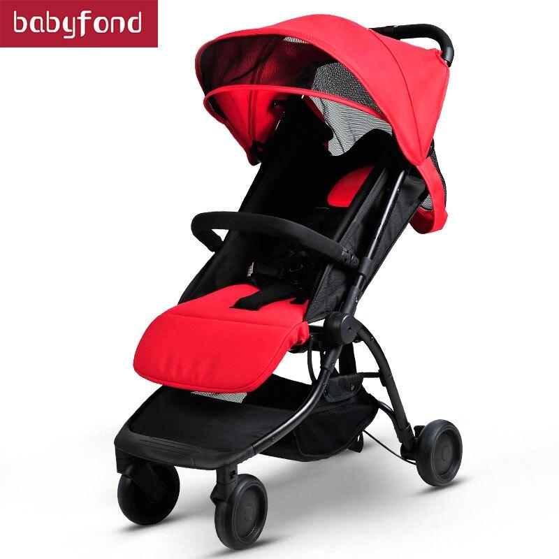 Portable and Light Baby Strollers Spirit Kids Pitman Style Strollers Travel Prams цена