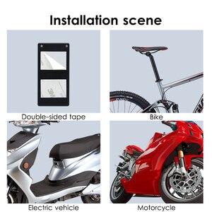 Image 5 - Ücretsiz Kargo Siyah 1 Takım Uzaktan Kumanda Bisiklet Elektromobile Güvenlik Titreşim uyarı alarmı Sistemi Bisiklet Anti Kayıp Hatırlatma